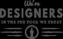 WE'RE DESIGNERS  Our Clients client5 hover